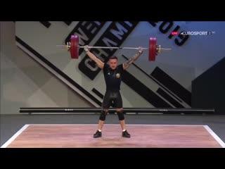Чемпионат Европы по тяжелой атлетике 2019 (Батуми, Грузия). Мужчины. Весовая категория до 61кг
