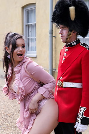 Brazzers - Stroking The Guard's Post