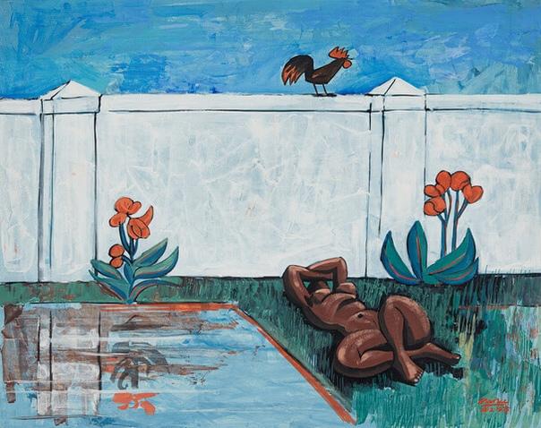 Peter Clare  (2 июня 1929 Южная Африка- 2014 Кейптаун )  южноафриканский художник, писатель и поэт.