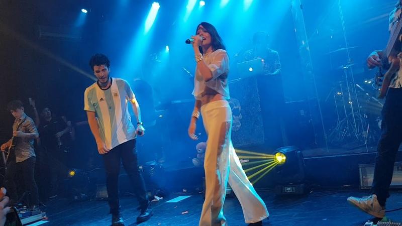 Te quiero mas- T❤ - Tini Stoessel y Sebastian Yatra La trastienda 06-12-17 Buenos Aires Argentina