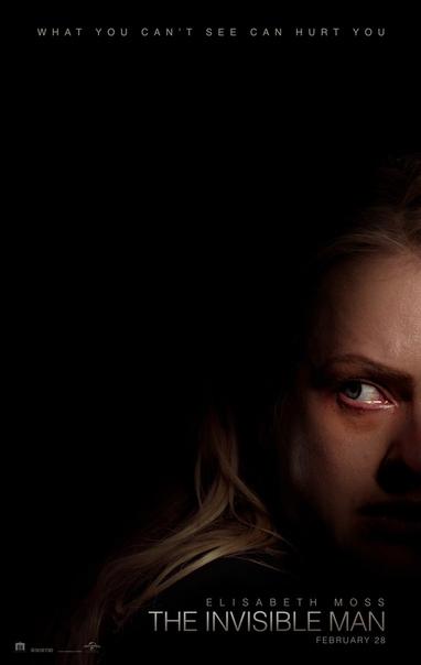 Элизабет Мосс на первом постере триллера «Человек-невидимка»