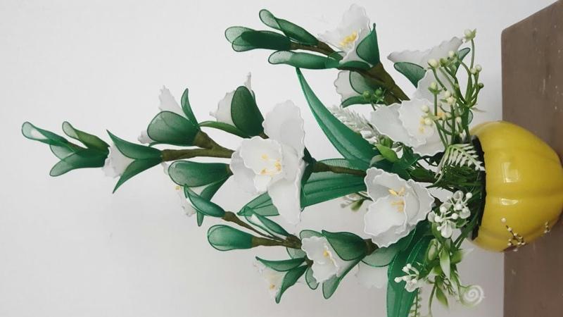 Cách làm hoa huệ trắng đẹp chưng Tết
