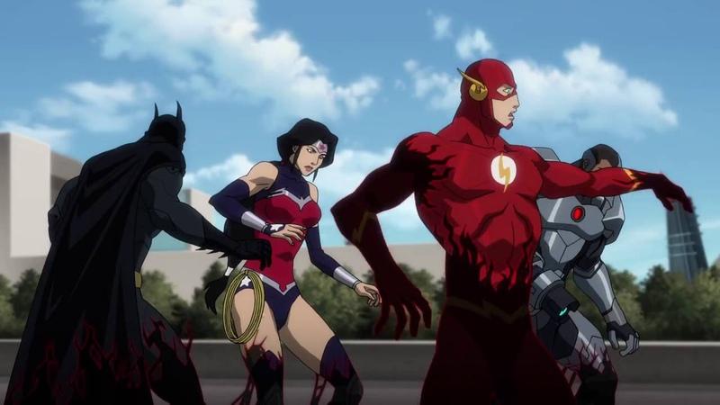 Лига Справедливости против Юных Титанов (Justice League vs. Teen Titans) Трейлер