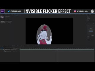 After effects invisible flicker effect!