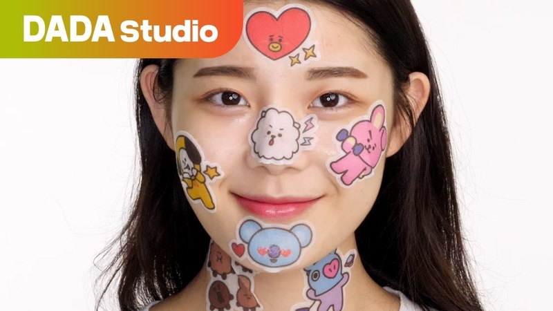 FANGIRLING AND SKIN CARE AT THE SAME TIME WITH MEDIHEAL BT21 POINT FACE MASK DADA Studio