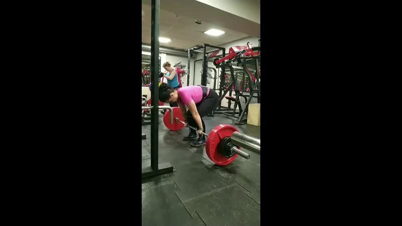 120 кг а силушка то осталась!!
