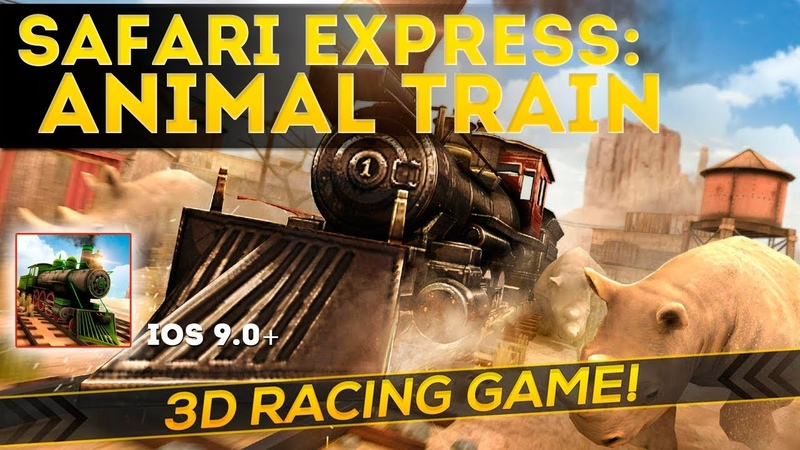 Safari Express Animal Train - Gameplay iOS. What is more Exciting than Visiting a Safari