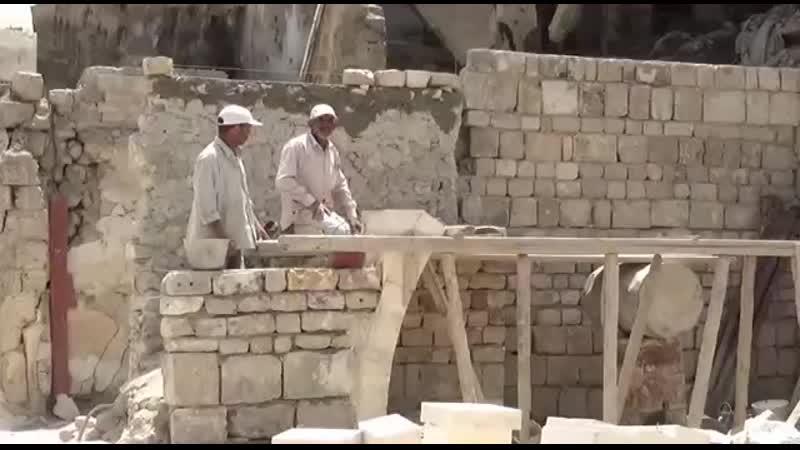 بأيادي السوريين إعادة إعمار المدينة القديمة في حلب mp4