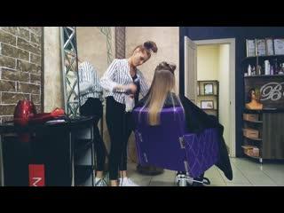 Холодный блонд в технике #микрошатушь г.Сарапул студия Barhat