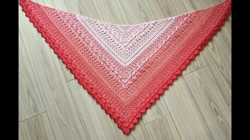 Cockles Of My Heart Shawl