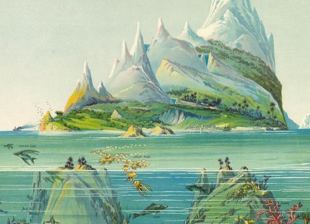 «Географическое портфолио» Леви Ягги  залипательнейший атлас XIX века
