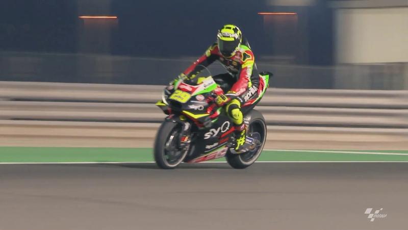 Aprilia in action: VisitQatar Grand Prix