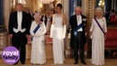 Trump attends state banquet hosted by Queen at Buckingham Palace