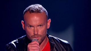 Kevin Simm Sings Sia's Chandelier - The Voice UK
