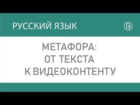 Метафора от текста к видеоконтенту