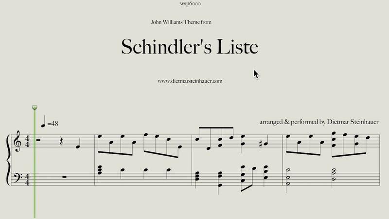 Schindler's Liste - Main Theme by John Williams