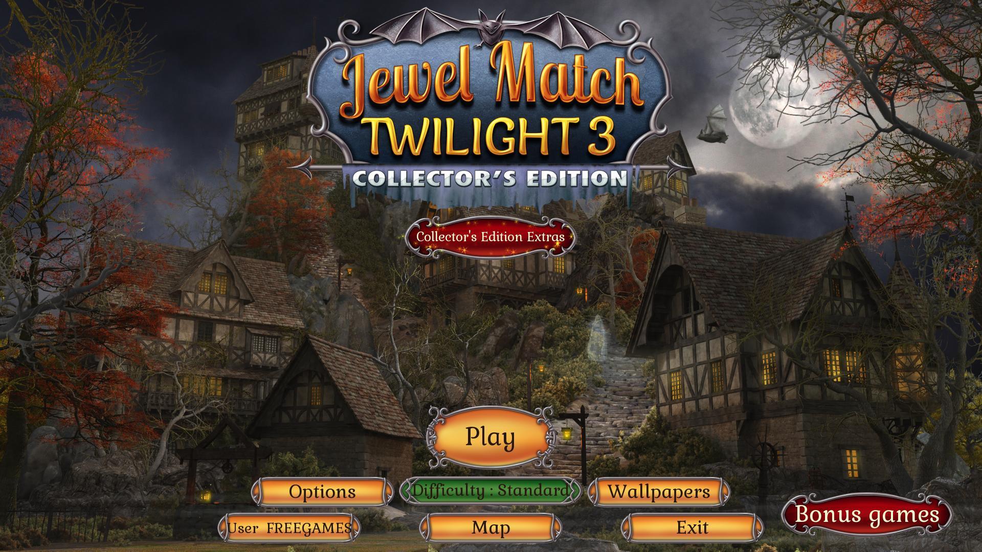 Джевел Матч Сумерки 3. Коллекционное издание | Jewel Match Twilight 3 CE (En)