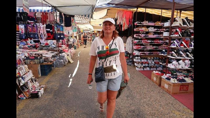 Шоппинг в Турции Обзор рынка в Турции Цены Ассортимент Eftalia Ocean Тюрклер Аланья Часть 1