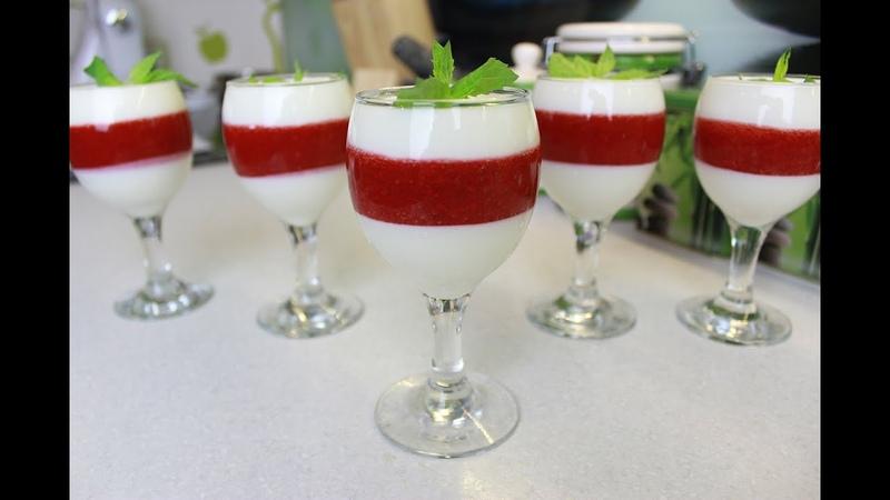 Вкусный десерт из клубники и творога простой рецепт без выпечки