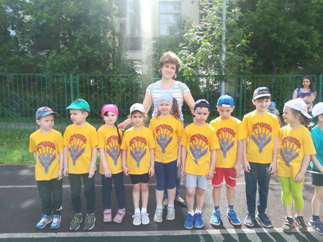 Дошкольники из Кузьминок приняли участие в спортивном фестивале «Быстрее, выше, сильнее!»