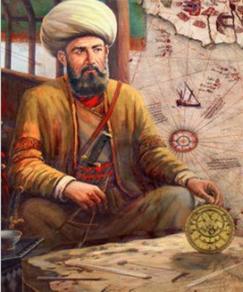 КОСТЕР НА СПИНЕ КИТА В 1513 году турецкий адмирал Пири Рейс создал карту миру, по его словам, превосходящую все прочие. Он утверждал, что черпал информацию для нее из 20 более ранних старых