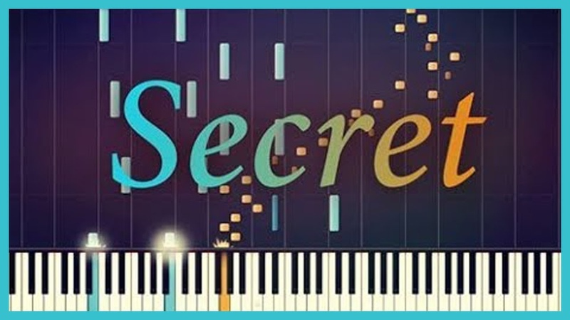 Time Travel Theme Secret Piano Tutorial Synthesia Classical x Pop