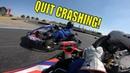 Wristy talks TRASH only CRASH! Go Kart Racing