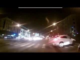 ДТП Максим Якуценя BMW X6 и ВАЗ-2110
