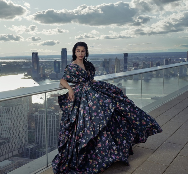 Cardi B by Annie Leibovitz for Vogue US, January 2020