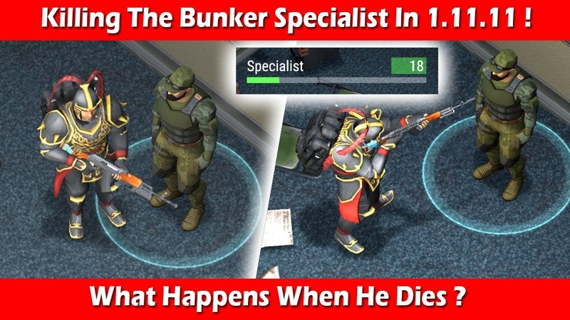Killing The Bunker Specialist In Version 1 11 11 Last Day On Earth Survival