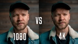 Can you REALLY SEE the DIFFERENCE 1080 VS 4K