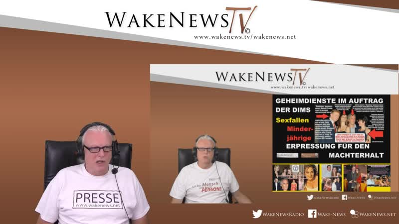Kriegsgerassel gegen IRAN UMVOLKUNGS-ERGEBNISSE ELITEN-Abartigkeiten - Wake News RadioTV