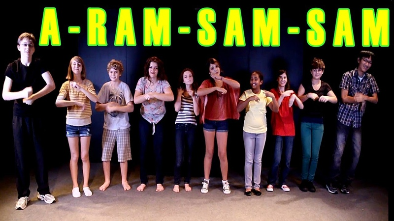 A Ram Sam Sam Dance Children's Song Kids Songs by The Learning Station