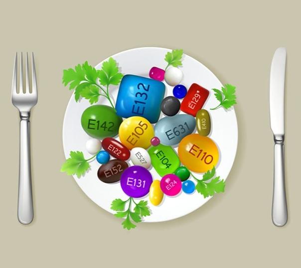Каждый человек в год съедает в среднем 4 килограмма пищевых добавок, консервантов, красителей, загустителей и др
