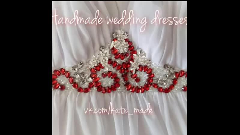 Процесс создания свадебного платья, с 1-ой примерки