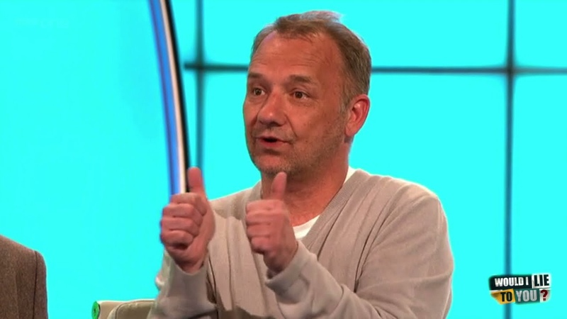Bob Mortimer claims he can break an apple in half with his bare hands! - Would I Lie to You?[CC]
