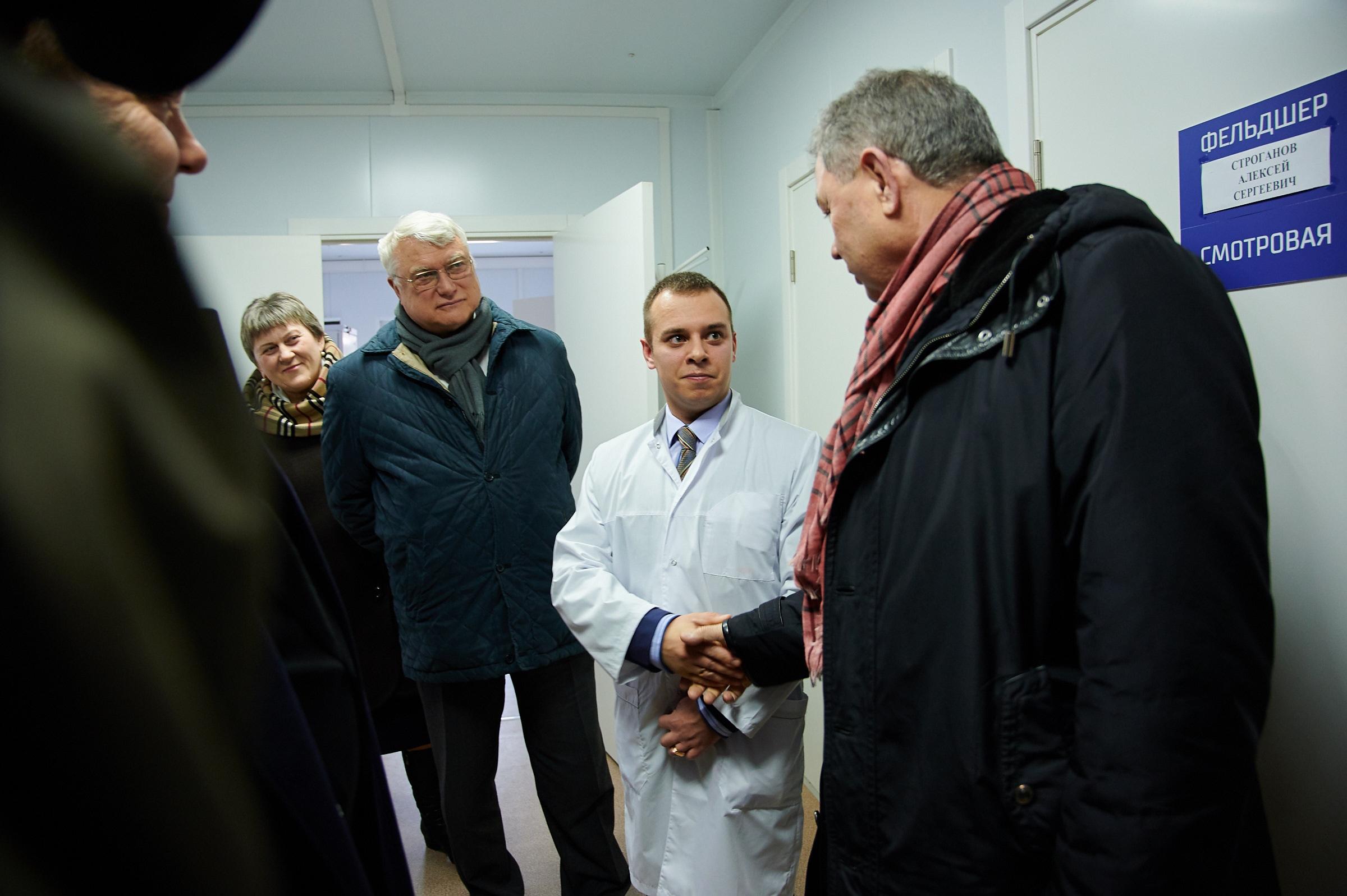 Губернатор ознакомился с ходом работ по модернизации ФАПов в Боровском районе