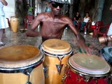 Afro-Cuban Drum Master -- Alejandro Berillo