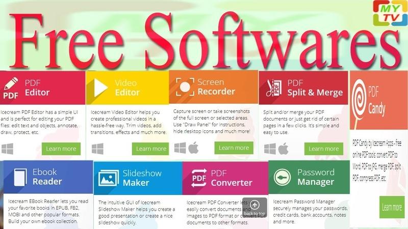 Top Free Softwares | free software download websites | BEST SITES FOR DOWNLOAD PC SOFTWARE