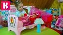 Беби Борн игрушечная кроватка для куклы / распаковка игрушки