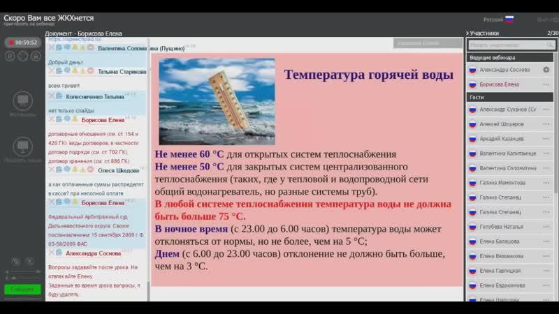 Урок 2 занятия Скоро Вам все ЖКХ-нется от 02.04.2016 Елены Борисовой. Часть 2