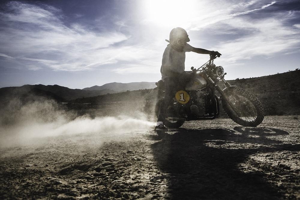 Petrology: кастом Honda NX650 Dominator. Идеальный ретро дуал-спорт