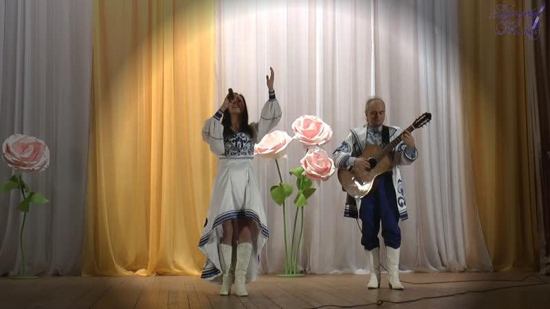 «В горнице моей светло» - Светлана Котова и Сергей Игнатьев - «Бирюзовые Колечки».