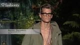 Andrey Zakharov and Ben Allen- Male Models at SpringSummer 2014 Fashion Week FashionTV
