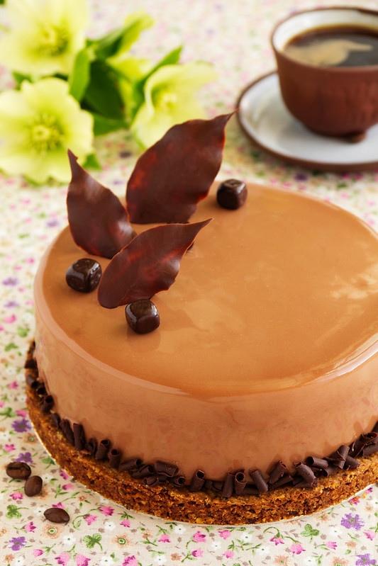 Кофейный торт-суфле с амаретто: рецепт