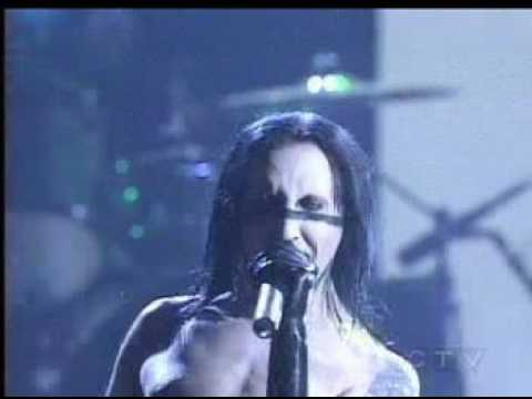 Marilyn Manson - Disposable Teens (Live At AMA)