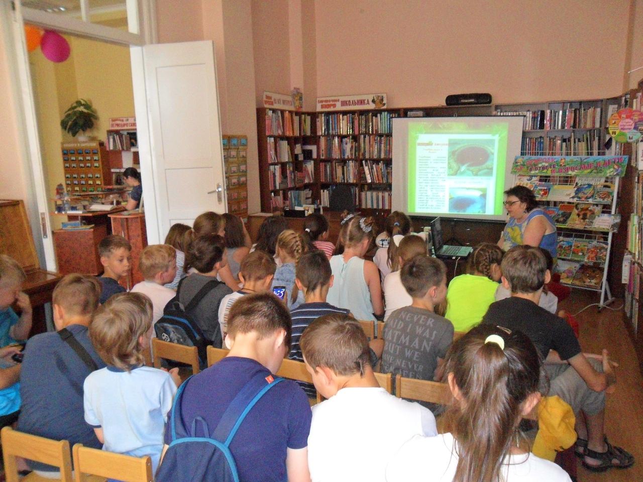 отдел искусств, Донецкая республиканская библиотека для детей, лето в библиотеке, работа с пришкольными лагерями