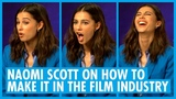 Naomi Scott Talks Ariana Grande, Spirit Animals and Dancing - Aladdin Inter