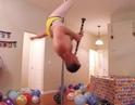 "9GAG: Go Fun The World on Instagram: ""💌 this to any birthday celebrant⠀ -⠀ 📹@paulgroslouis⠀ -⠀ happybirthday 9gag poledance Clarinet"""