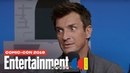 The Rookie Stars Nathan Fillion Melissa O'Neil Cast LIVE SDCC 2019 Entertainment Weekly